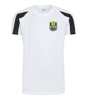 Suffolk Tennis Academy Tshirt White Front