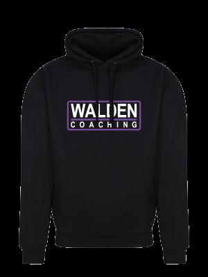 Walden Coaching - Mens Hoodie Black Front